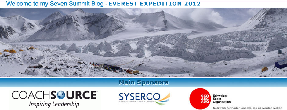 Seven Summit - Everest Expedition 2012