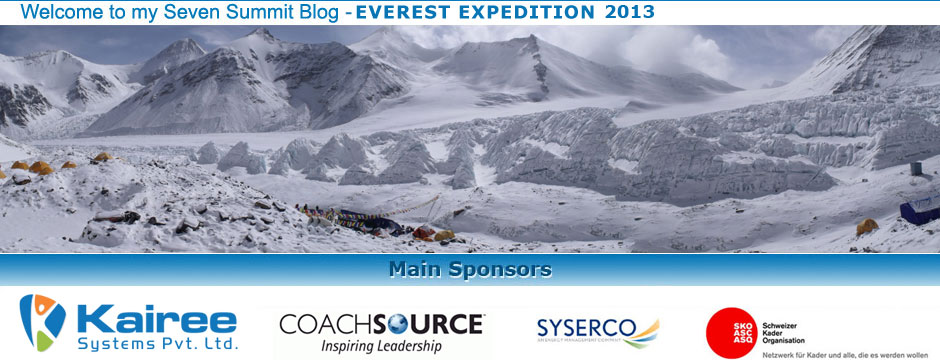 Seven Summit - Everest Expedition 2013